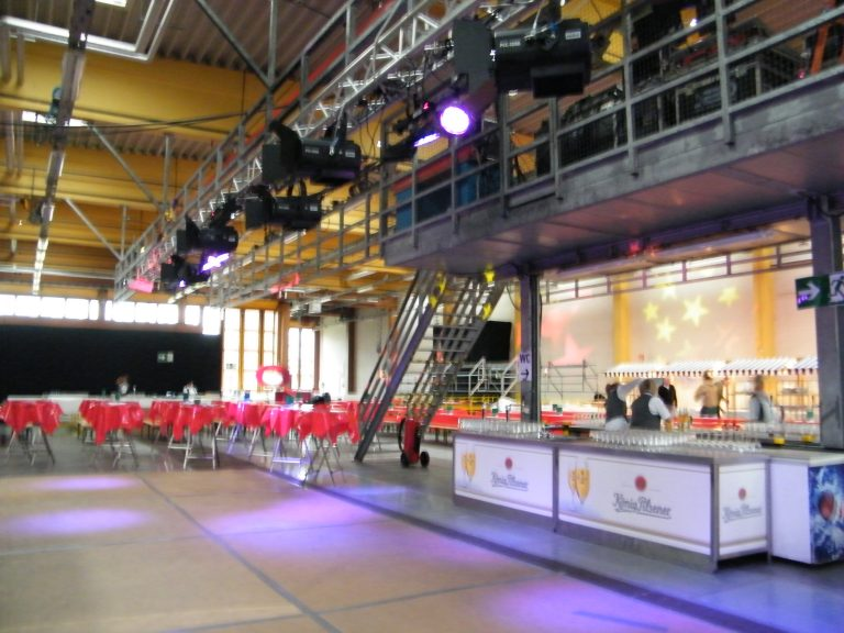 Industriehalle Event