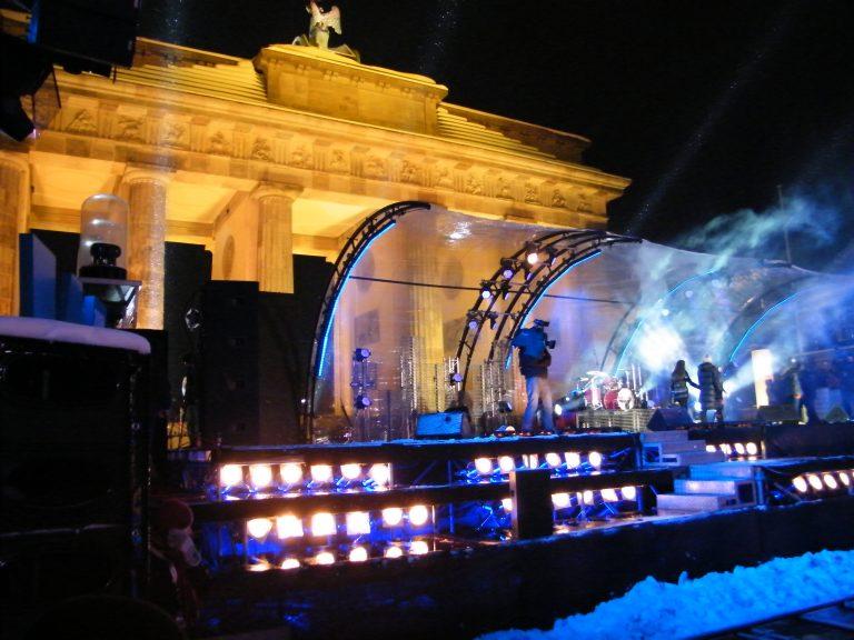 Brandenburger Tor Bühne